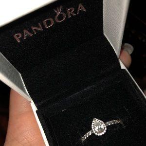 Pandora Tear Drop ring